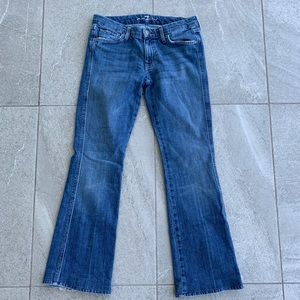 7 for all mankind bootcut jeans (30)
